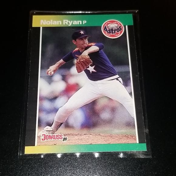 1989 Nolan Ryan Astros #154